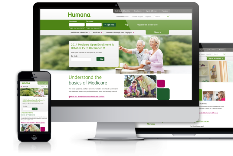 humana-website-design