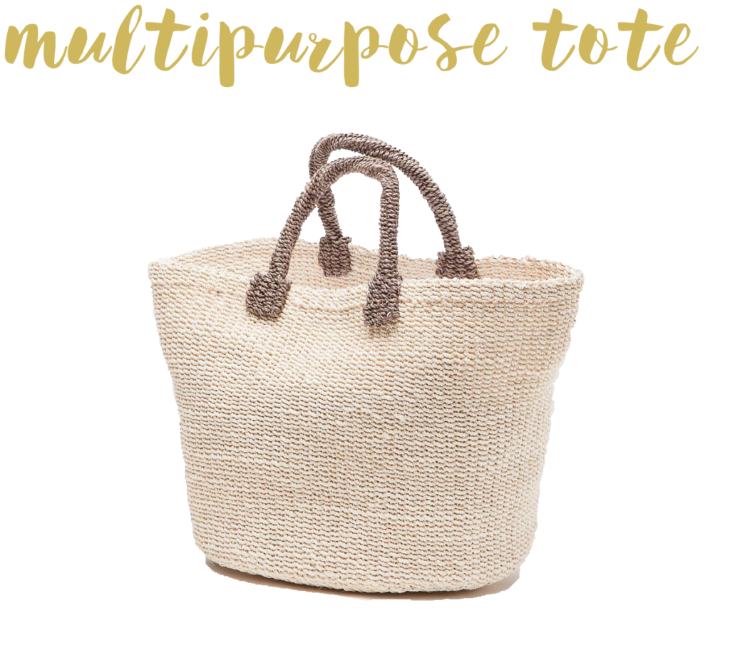 packing for hawaii - multipurpose tote